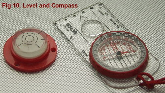 Level and Compass