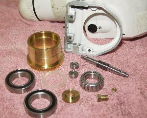 Worm Gear Assembley Parts