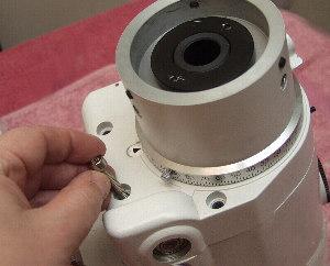 Replace Cap Headed Screws on DEC Worm Carrier - Synta EQ6/Orion Atlas