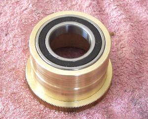 Replace Roller Bearings into Brass Worm - Synta EQ6 / Orion Atlas
