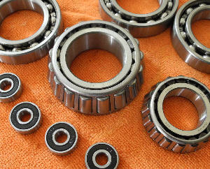 Bearings, after Cleaning