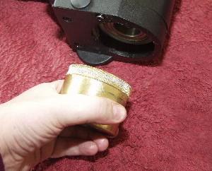 Brass Declination Gear