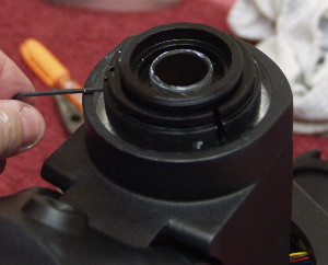 Tighten Locking Screws